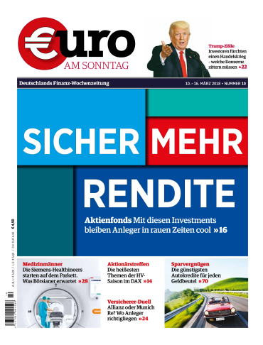Euro am Sonntag Finanzmagazin No 10 vom 10. März 2018