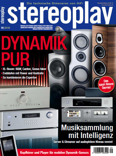 Stereoplay Magazin September No 09 2018