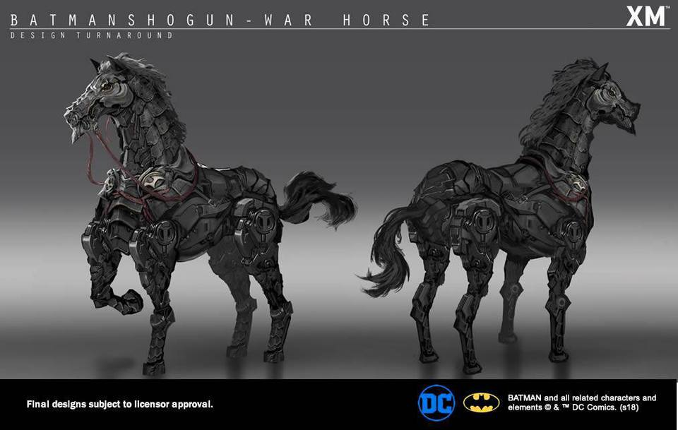 Samurai Series : Batman On Horse** 28238130_200508485637x1up5