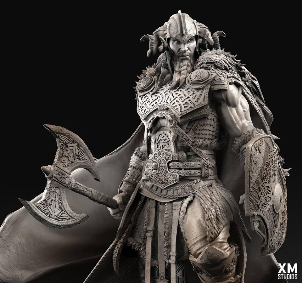 Premium Collectibles : Thor by Caleb Nefzen** 28471556_101554343083lduv6