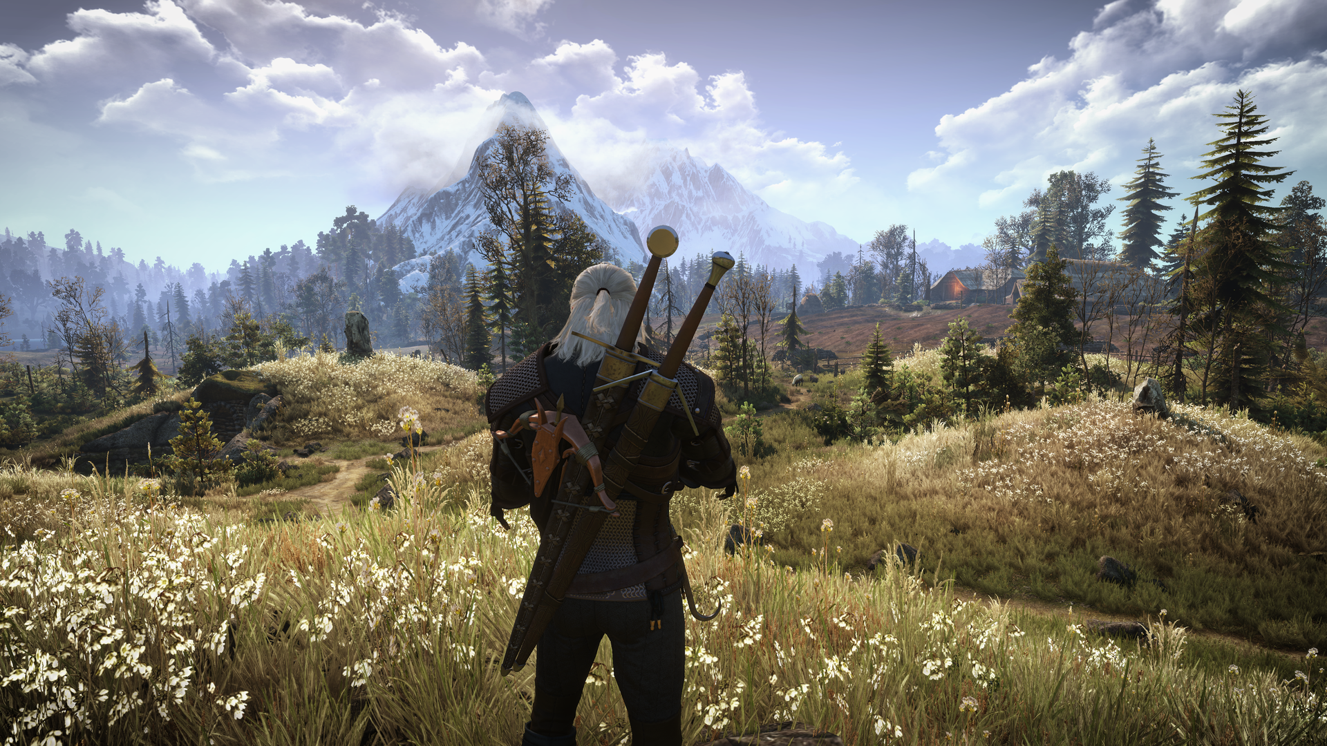 The Witcher 3 can now be played with the UI/HUD elements