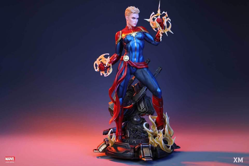 Premium Collectibles : Captain Marvel 1/4 Statue 29fkjoa