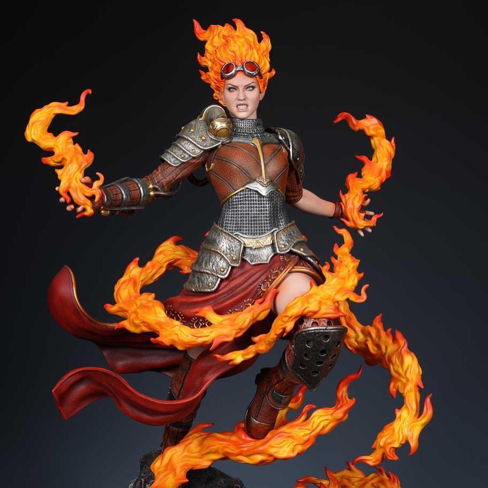 Premium Collectibles : MTG - Chandra Nalaar 1/4 Statue 2ajk3k