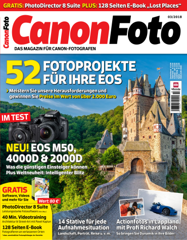 Canon Foto Magazin April Mai No 03 2018
