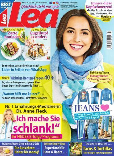 :  Lea Frauenmagazin Februar No 08 2018