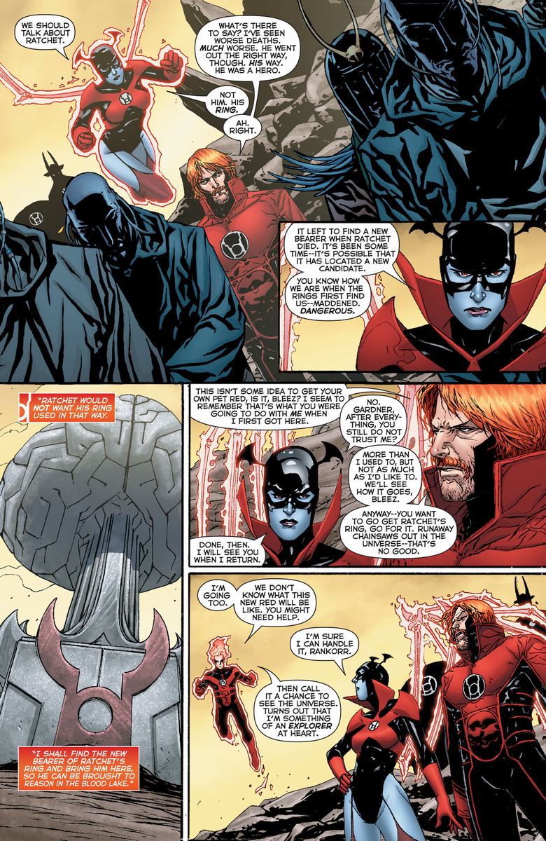 scans_daily | Red Lanterns #27 -