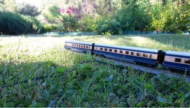 Садовая дорога в 1:87