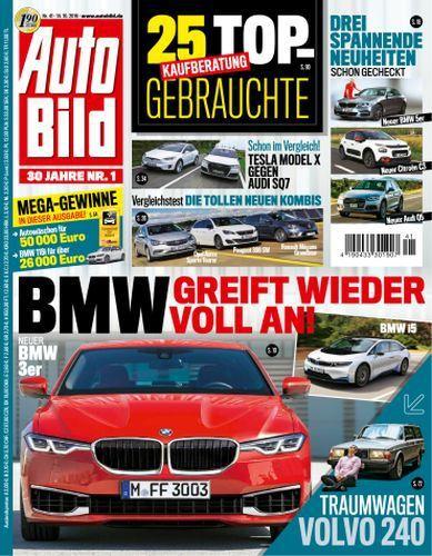 : Auto Bild Magazin  No 41 vom 14 Oktober 2016