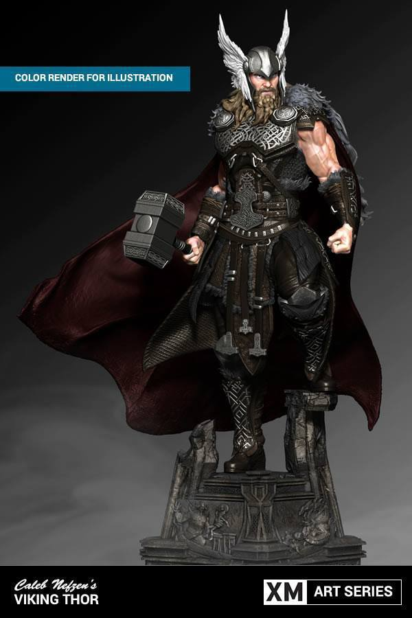 Premium Collectibles : Thor by Caleb Nefzen** 2issat