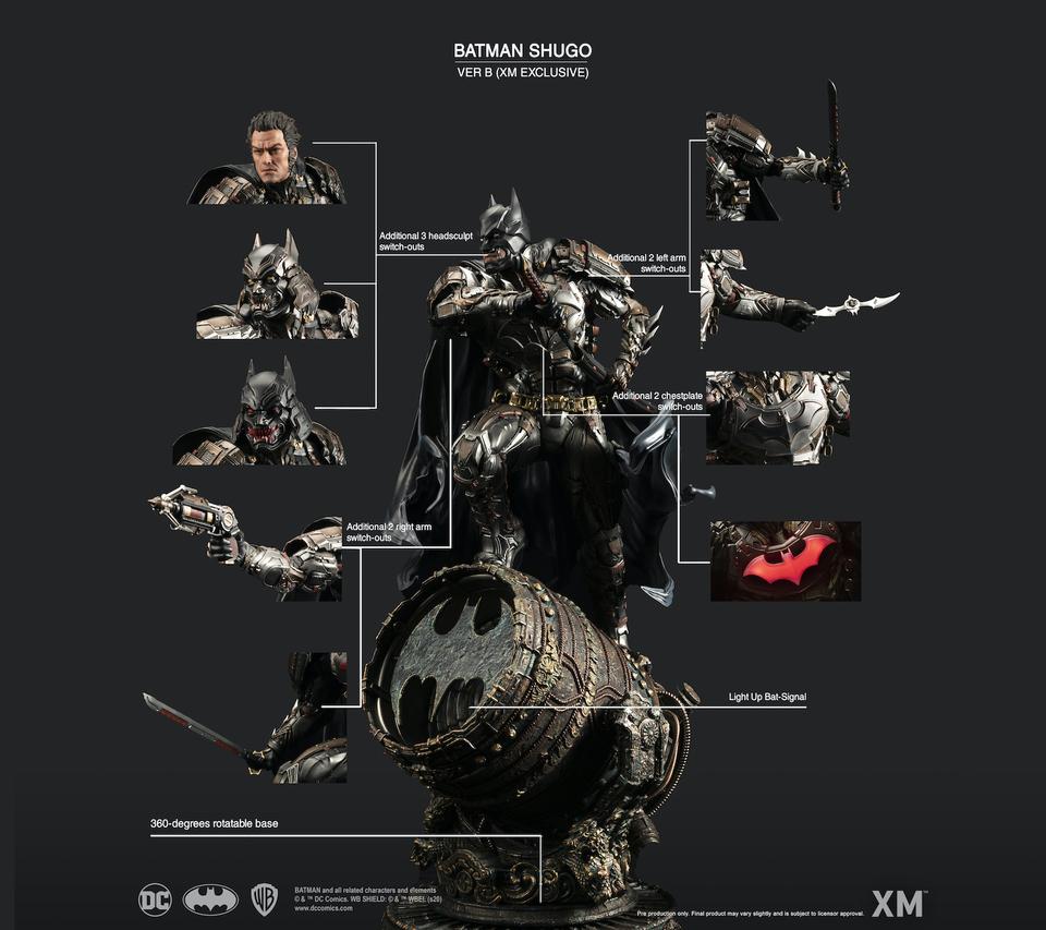 Samurai Series : Batman Shugo 2k9jap