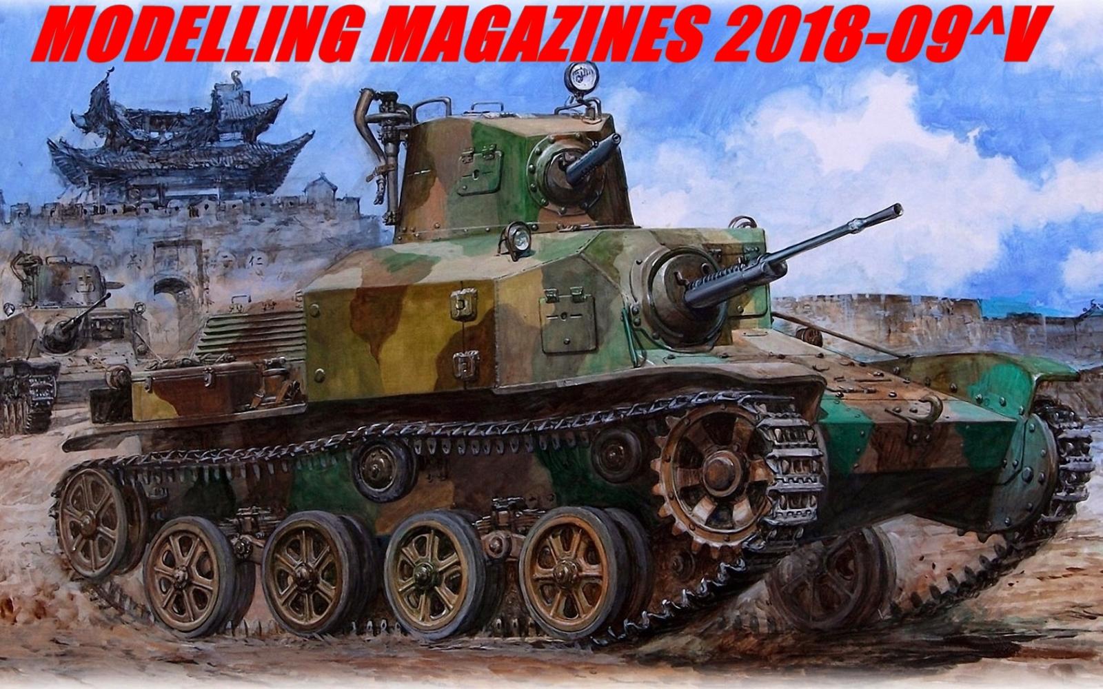 Modelling Magazines 2018-09
