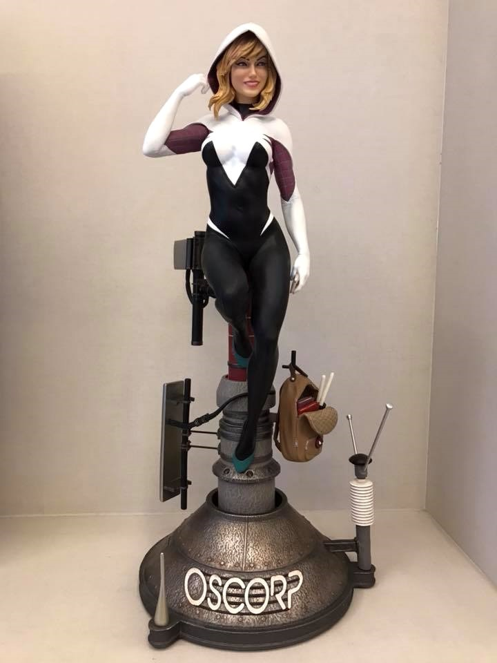 Premium Collectibles : Spider-Gwen 2meqk0