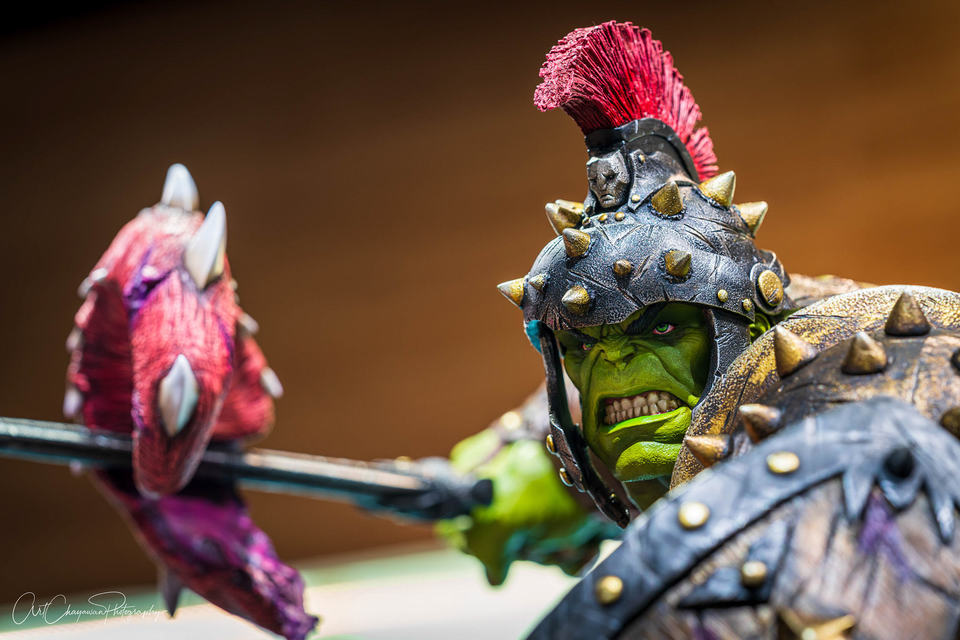 Premium Collectibles : Planet Hulk / King Hulk** 2pejv4