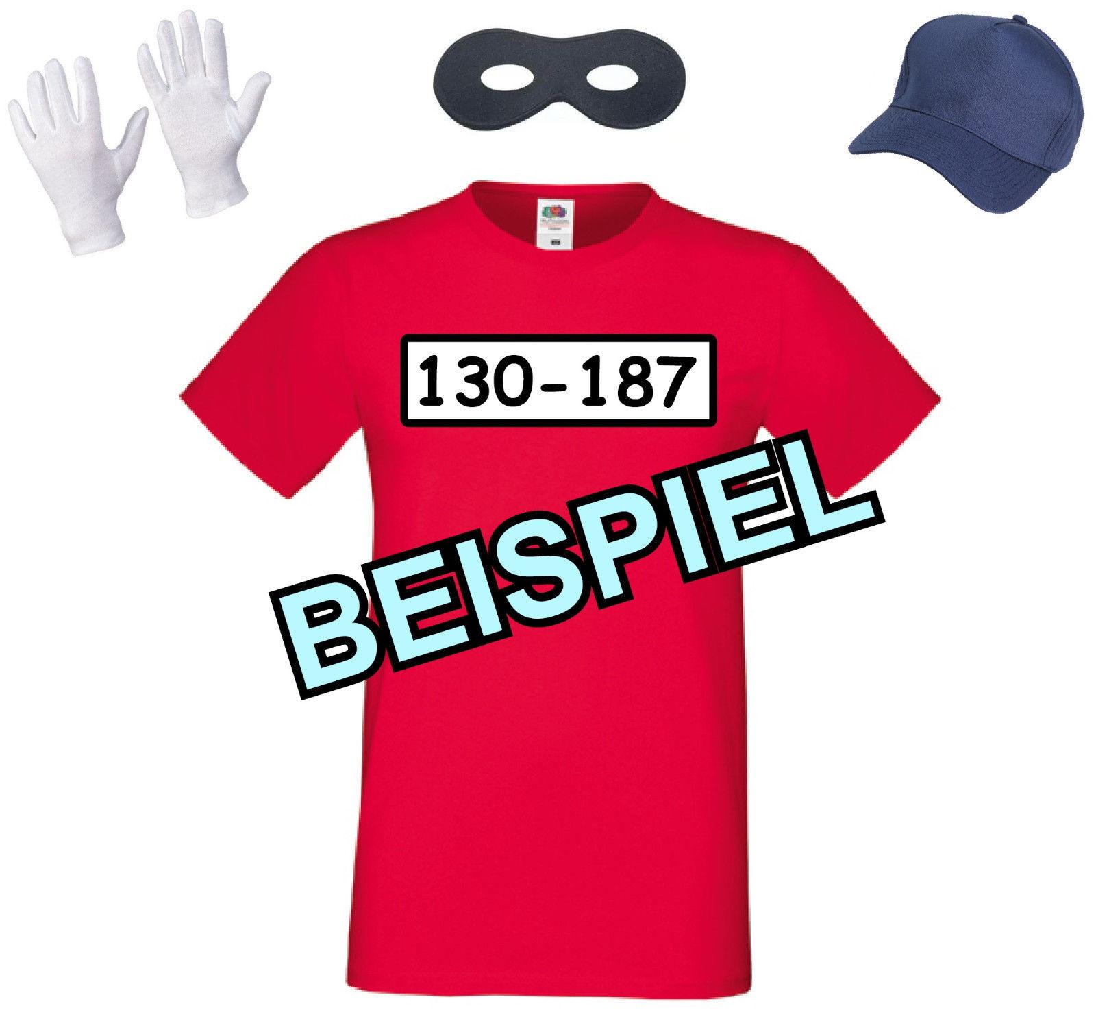panzerknacker t shirt karnevalskost m karneval kost m verkleidung fasching jga ebay. Black Bedroom Furniture Sets. Home Design Ideas