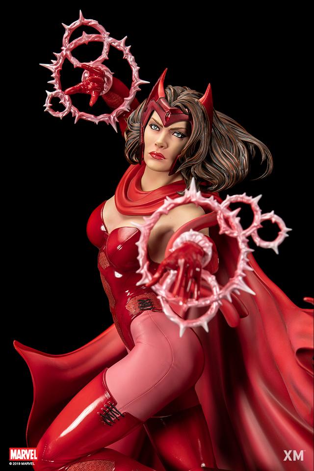 Premium Collectibles : Scarlet Witch** 2scarletwitchqckwp