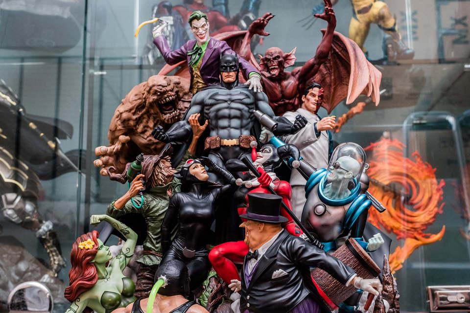 Batman diorama  2w4kwy