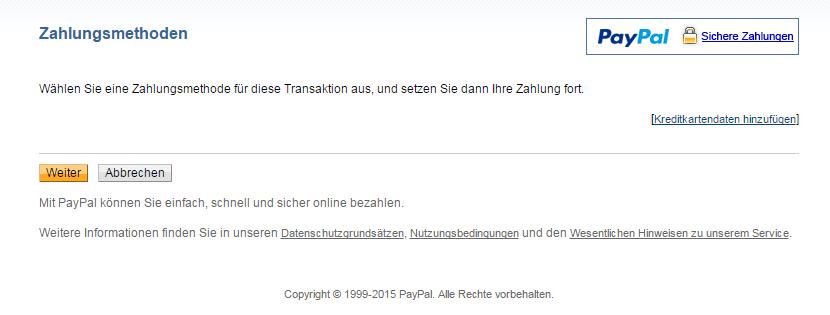 Paypal Konto Im Minus