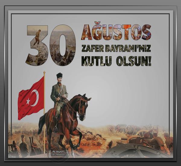 30 Agustos Kutlama Grafik E Kart 3