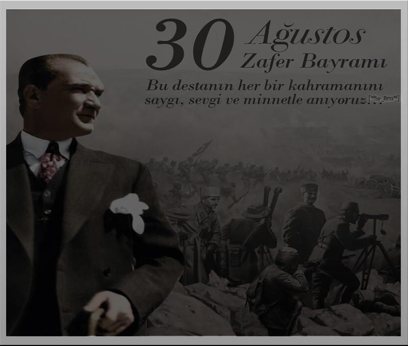 30 Agustos Kutlu Olsun 2