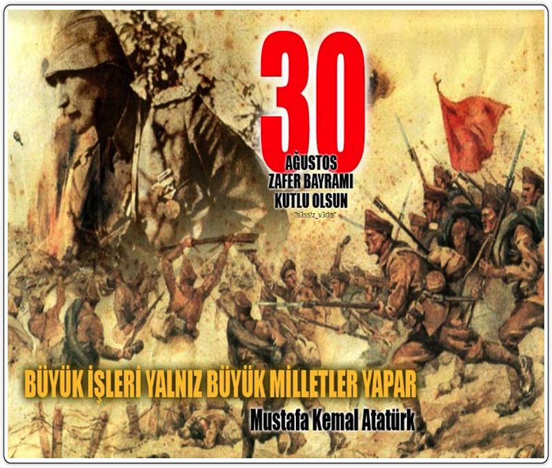 30 Agustos Zafer Bayramı 1