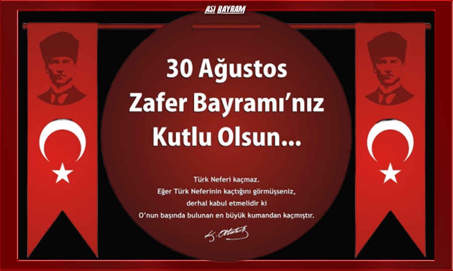 30 Agustos Zafer Bayrami E-Kart 7