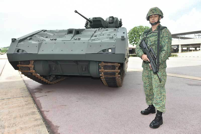 singapore armed forces next generation afv