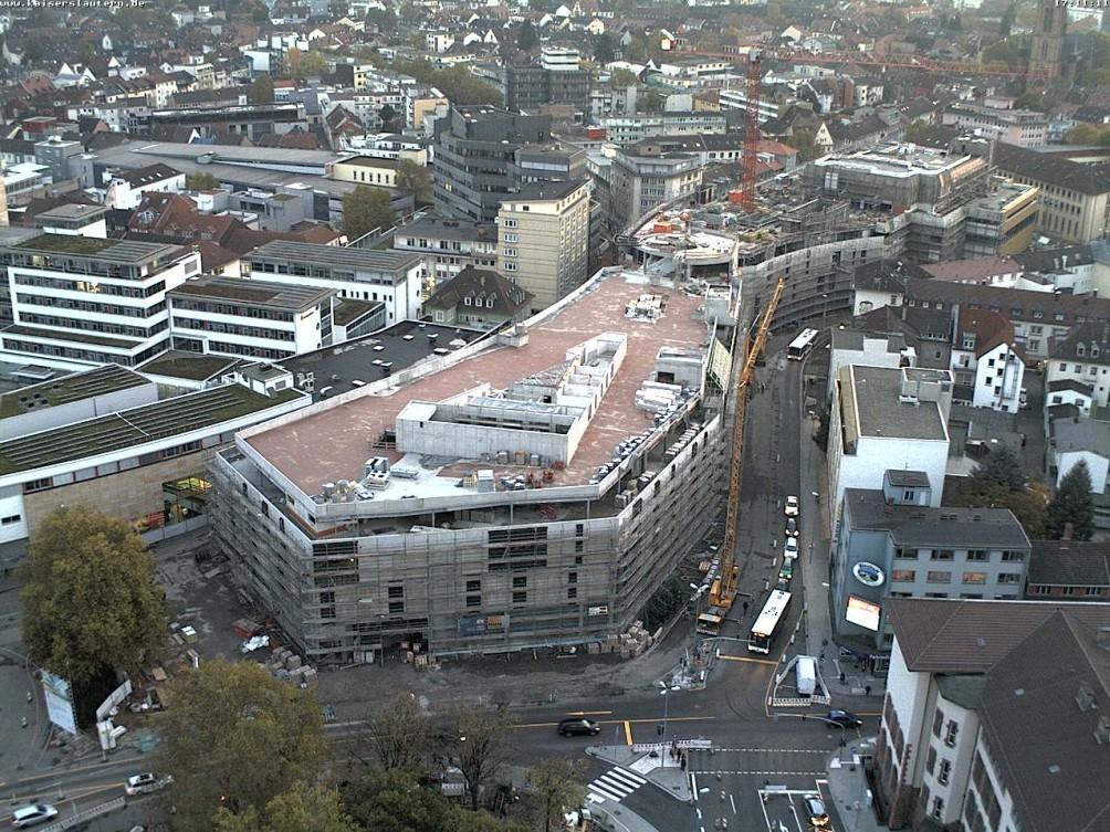 kaiserslautern stadtgalerie ehemaliger karstadt seite 2 deutsches architektur forum. Black Bedroom Furniture Sets. Home Design Ideas