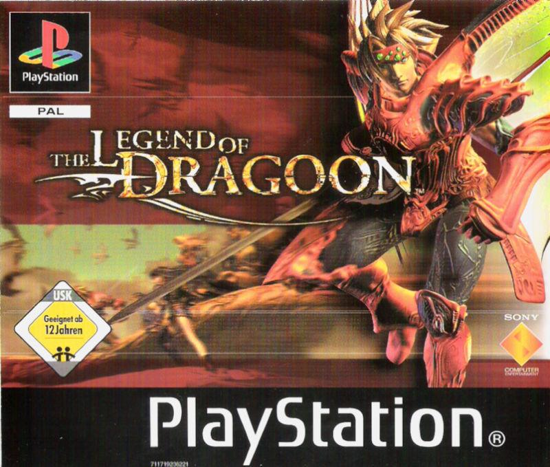 Legend of Dragoon - PS1 Iso Game Spiel - PAL German Deutsch - [4CDs