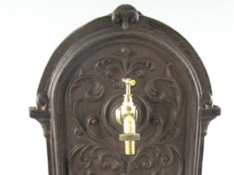 standbrunnen 64cm 13kg gusseisen gartenbrunnen. Black Bedroom Furniture Sets. Home Design Ideas