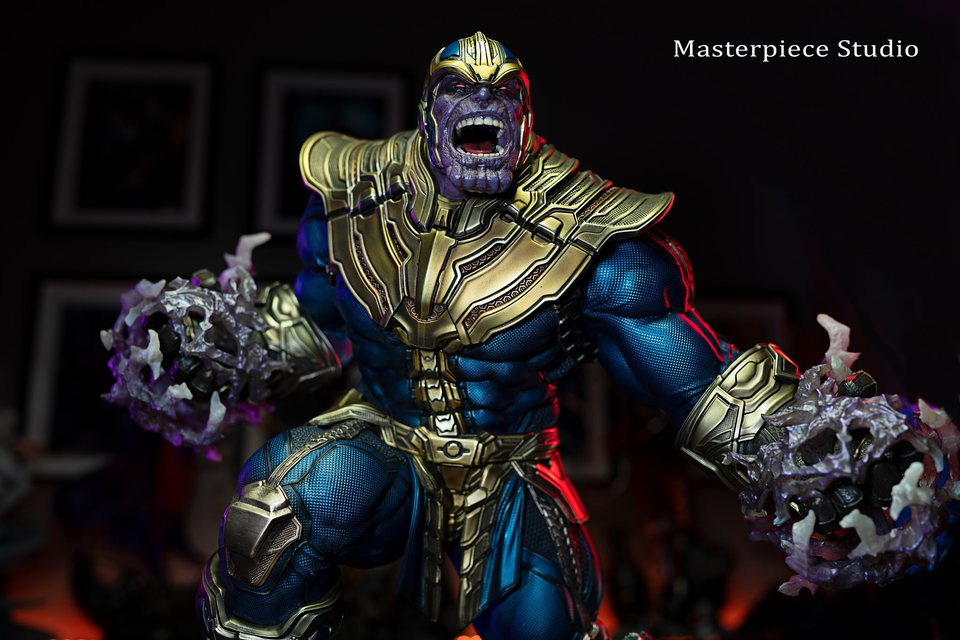 Premium Collectibles : Thanos and Lady Death 329j62