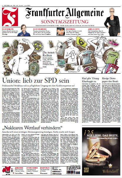 Frankfurter Allgemeine Sonntags Zeitung 21 Oktober 2018