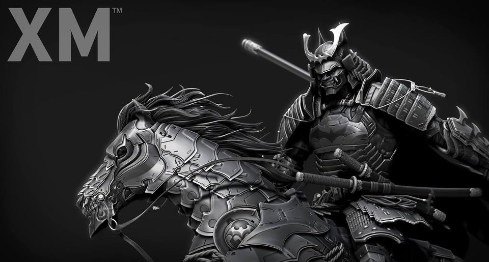 Samurai Series : Batman On Horse** 33990777_2052820141608zuw4