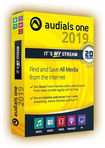 download Audials One Platinum 2019.0.2600.0 Multilingual