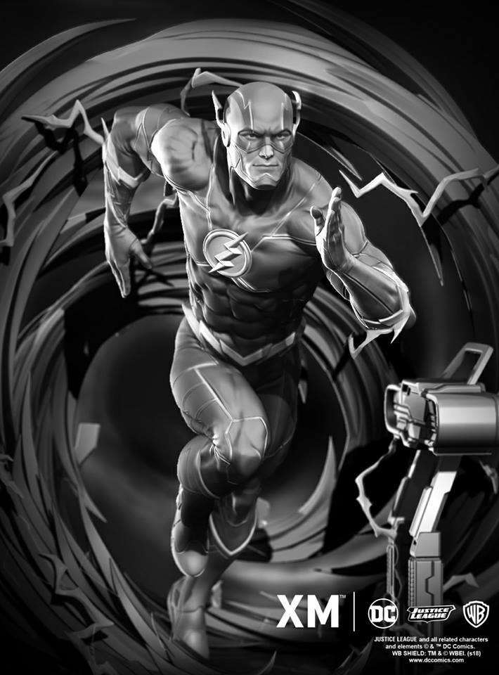 Premium Collectibles : JLA Flash 1/6**   34011301_205342640487nvqi7