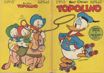 TOPOLINO LIBRETTO – N° 34 (1951)