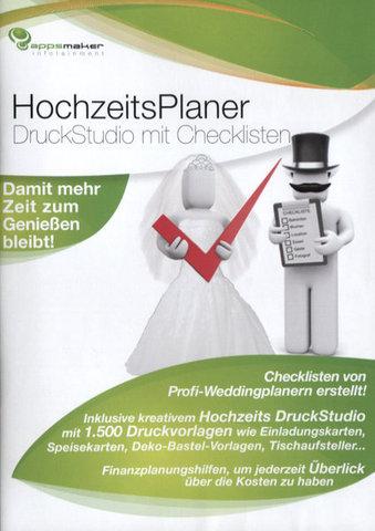 download Appsmaker HochzeitsPlaner DruckStudio mit Checkliste