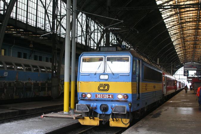 363 126-4 Praha Hlavní Nádraži