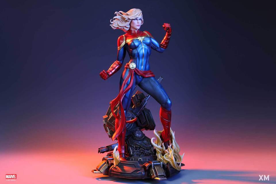 Premium Collectibles : Captain Marvel 1/4 Statue 36rukjn
