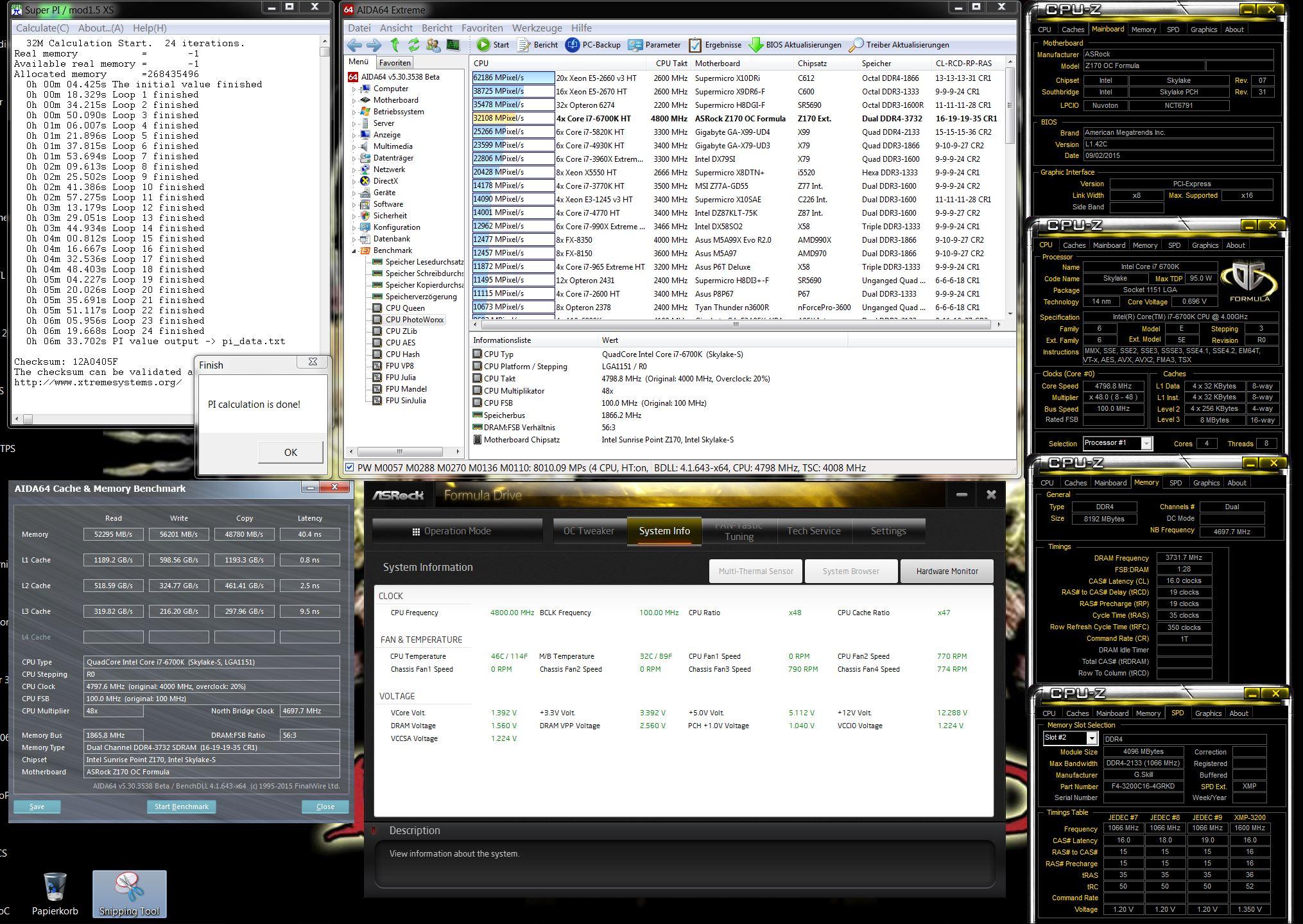 Sammelthread] ASRock Z170 OC Formula (Intel Z170 Chipsatz)