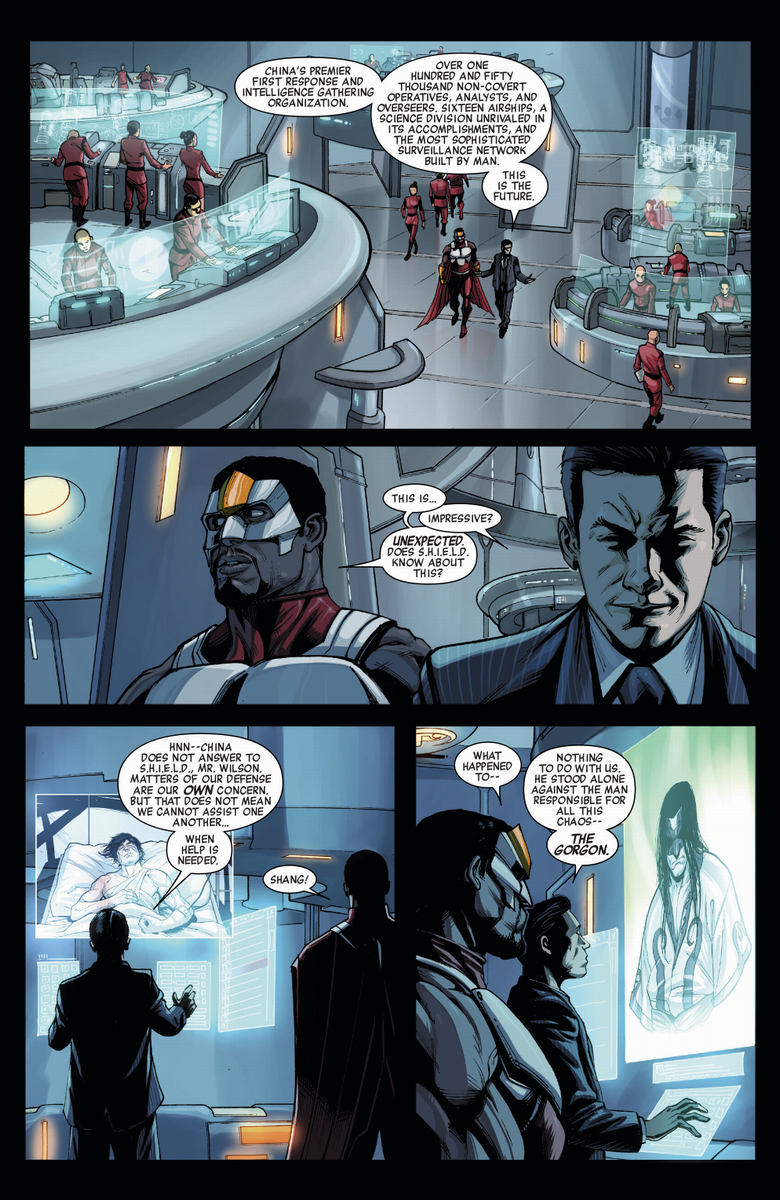 scans_daily | Avengers World #7