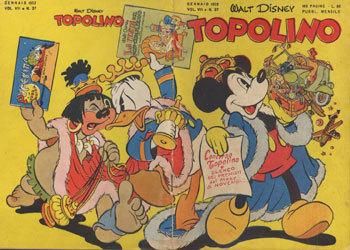 TOPOLINO LIBRETTO – N° 37 (1952)