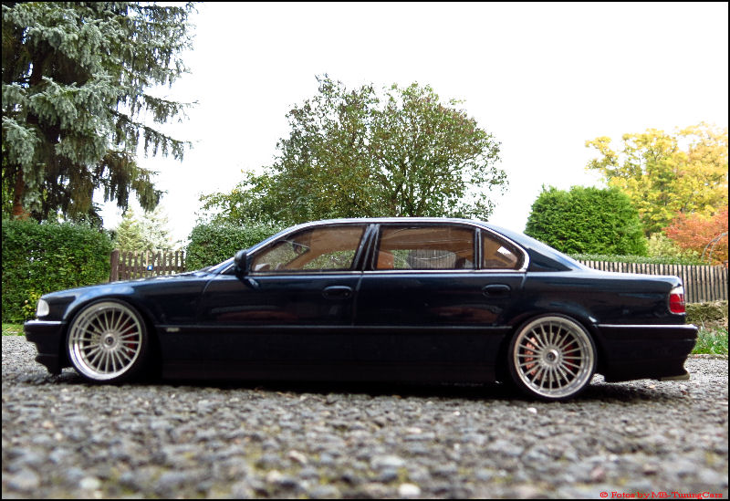 1 18 tuning bmw e38 750il alpina alufelgen blue. Black Bedroom Furniture Sets. Home Design Ideas