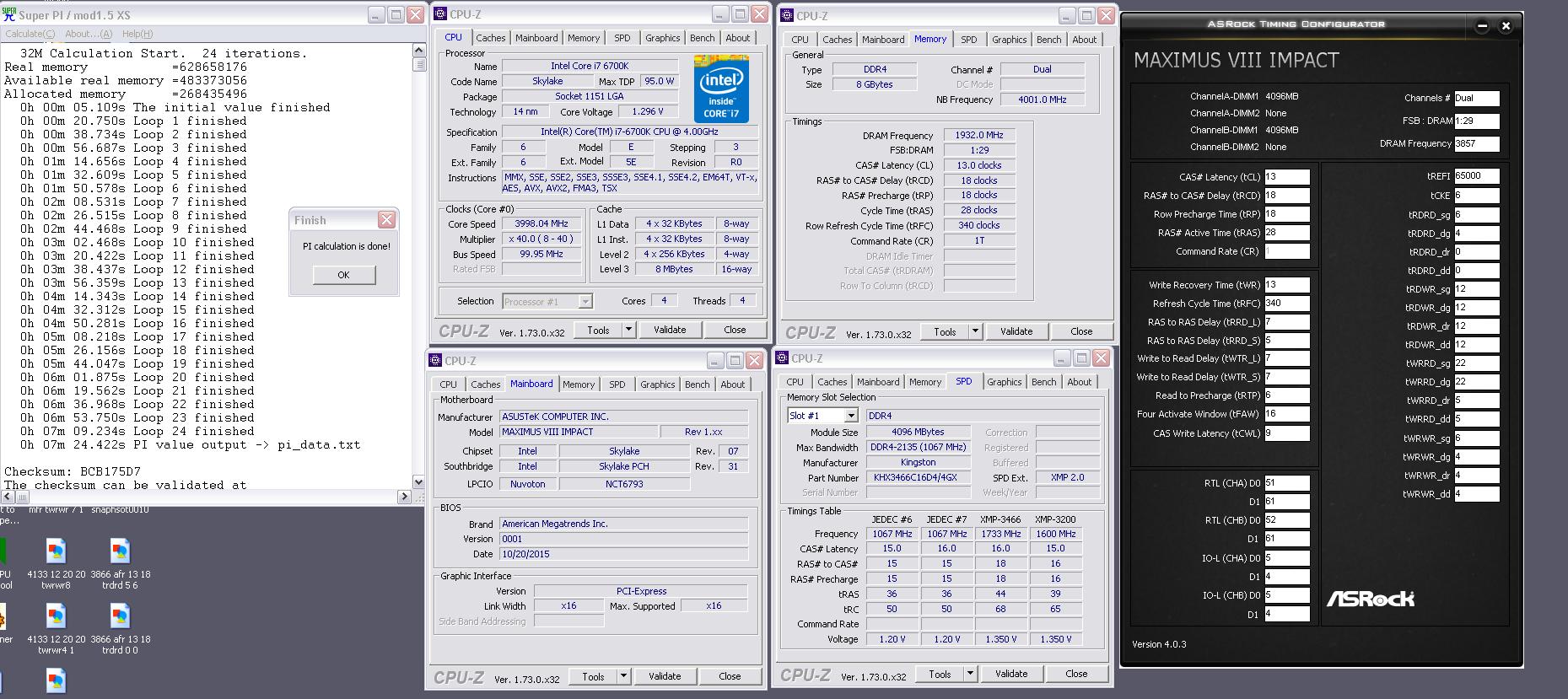 [GUIDE] Skylake Memory Timings on Asus Motherboards !