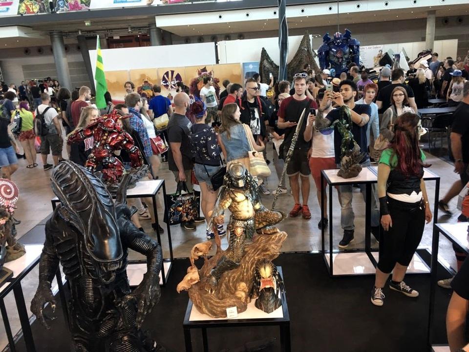 XM Studios: Comic Con Germany Stuttgart 2018  38n3sqb