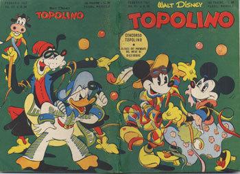 TOPOLINO LIBRETTO – N° 38 (1952)