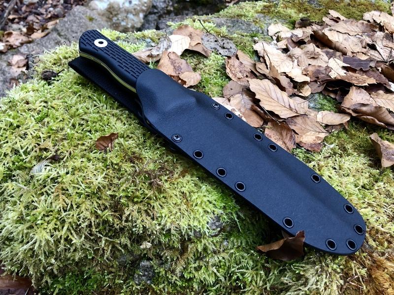 Taschenmesser Ordentlich Grohmann Knives Original Design Micarta Messer Outdoormesser