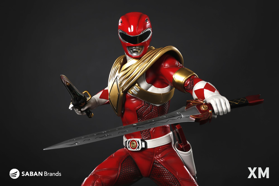 Premium Collectibles : Power Ranger Red 3asrpcz