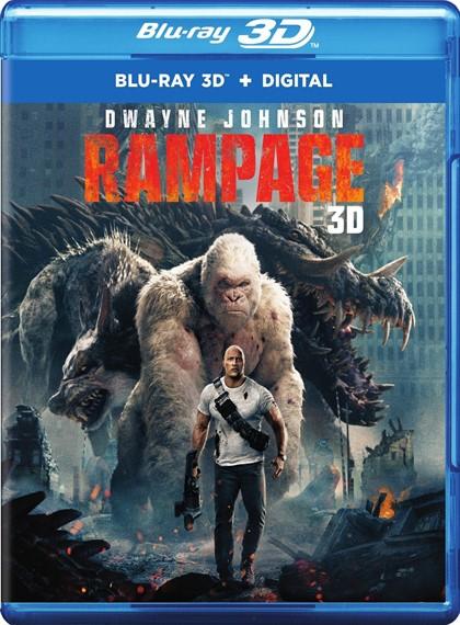 Büyük Yıkım - Rampage - 2018 - 3D Half-SBS - 1080p - DUAL (TR-EN)