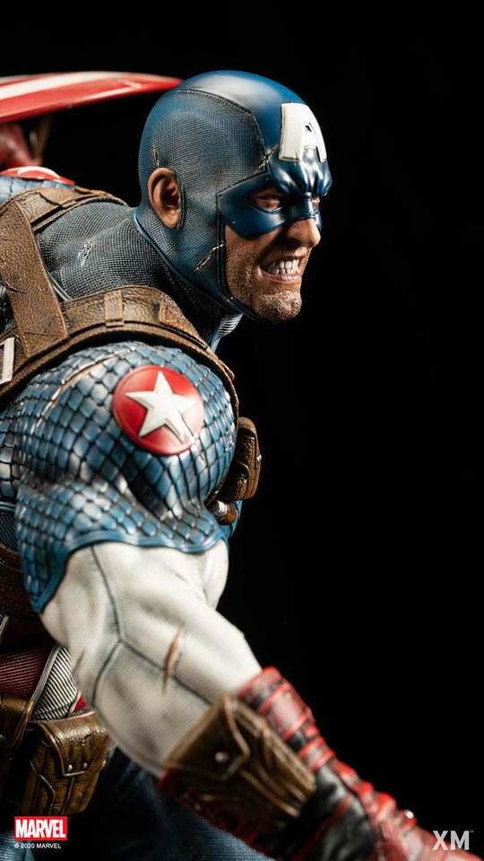 Premium Collectibles : Captain America Ultimate 1/4 Statue 3fqkpu
