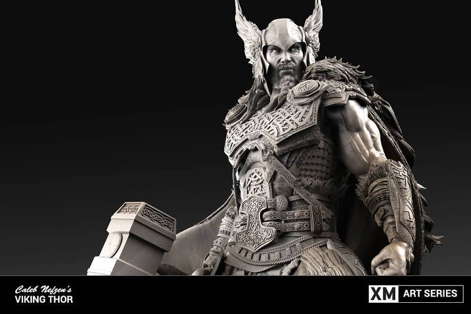 Premium Collectibles : Thor by Caleb Nefzen** 3kvsa8